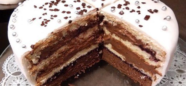 Tort z lukrem plastycznym dla każdego