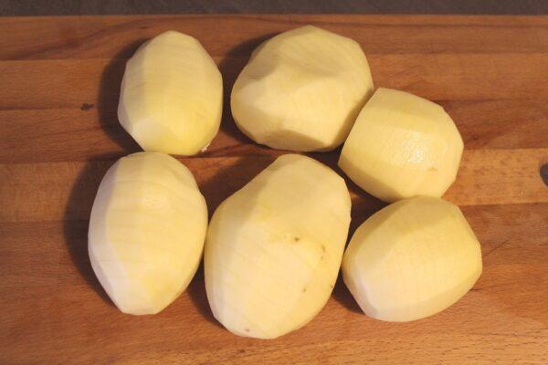 Przygotowane ziemniaki