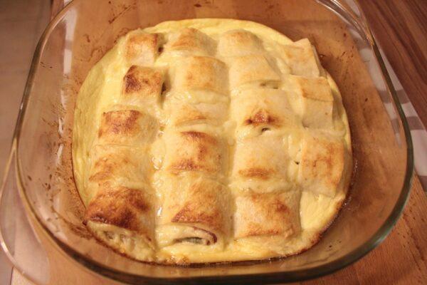 Zapiekane tortille