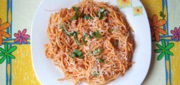 Błyskawiczne spaghetti