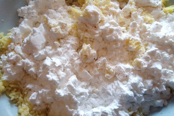 Zemniaki z mąką
