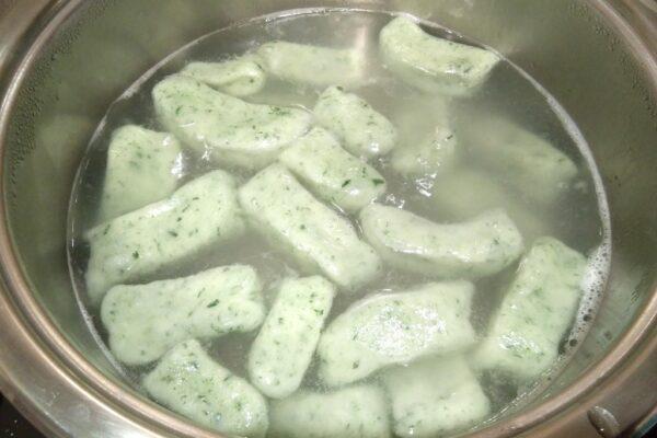 Gotowanie kopytek
