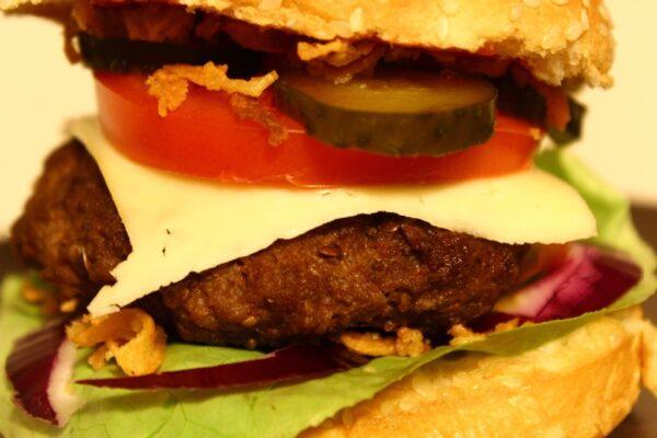 Burger – zbliżenie