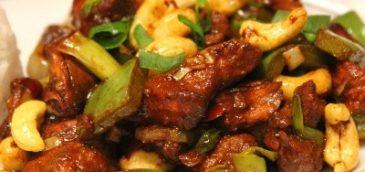 Kurczak z orzechami (Gong Bao Ji)