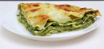 Lasagne ze szpinakiem i ricottą
