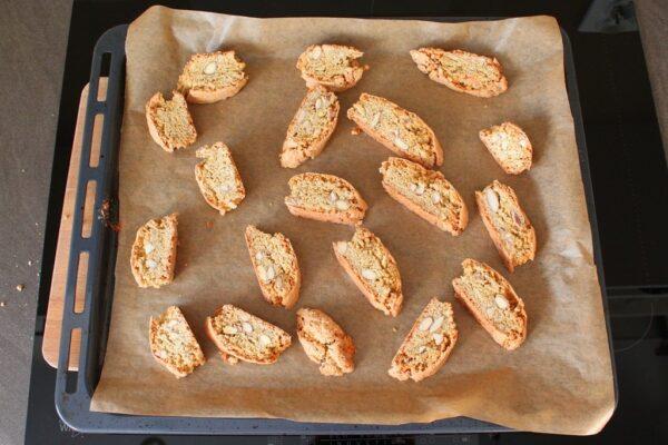 Ciasteczka w trakcie pieczenia